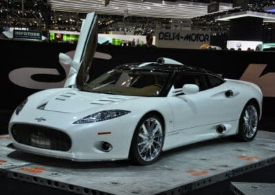Spyker C Aileron geneva motor show