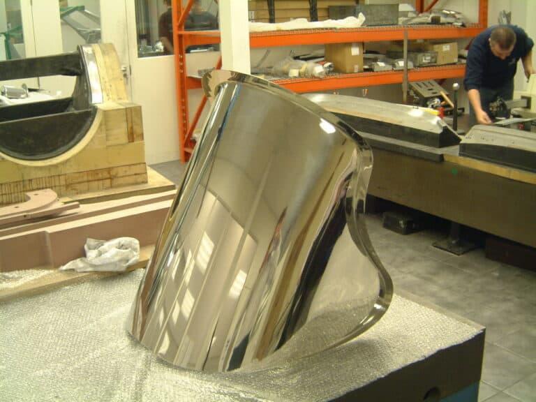 custom made furniture steel wing chair