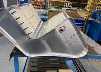 prototype gto aluminium fuel tank