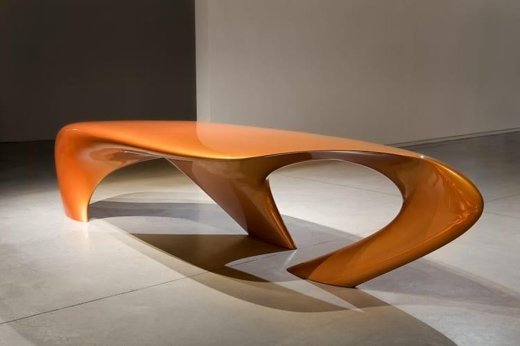 zaha hadid dune table