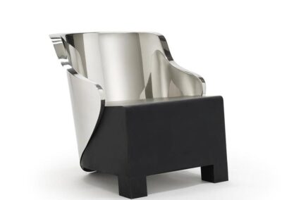 stallard Chair Bergere Low Black